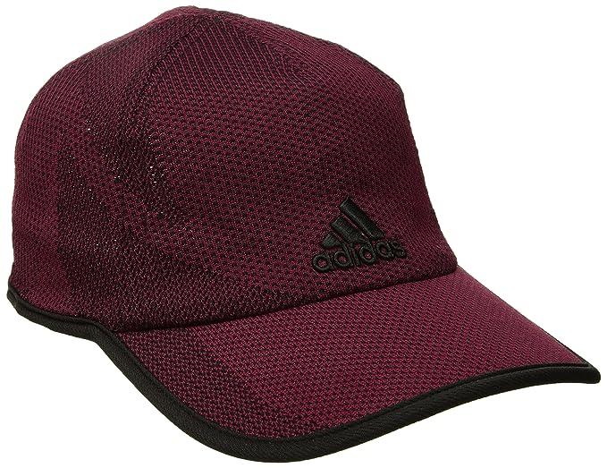04d584b4 adidas Men's Adizero Prime Cap, Collegiate Burgundy/Black, One Size