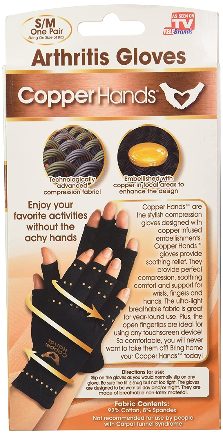 Driving gloves for arthritic hands - Amazon Com Copper Hands Gloves As Seen On Tv Arthritis Compression Gloves Health Personal Care