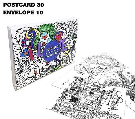 Creative Colorazione Colorazione Libro Da Colorare Biglietti Di