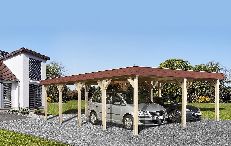 Weka cola para madera de tejado plano de doble CarPort 615 Talla 2 ...