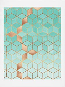 Society6 Elisabeth Fredriksson Soft Gradient Aquamarine Art Print, 18