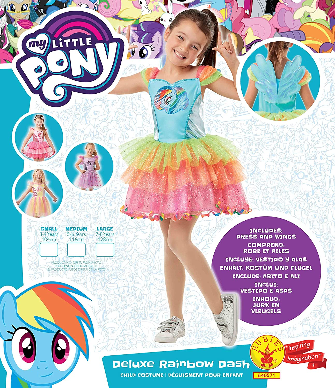 Rubies Rainbow Dash My Little Pony Kostüm für Kinder