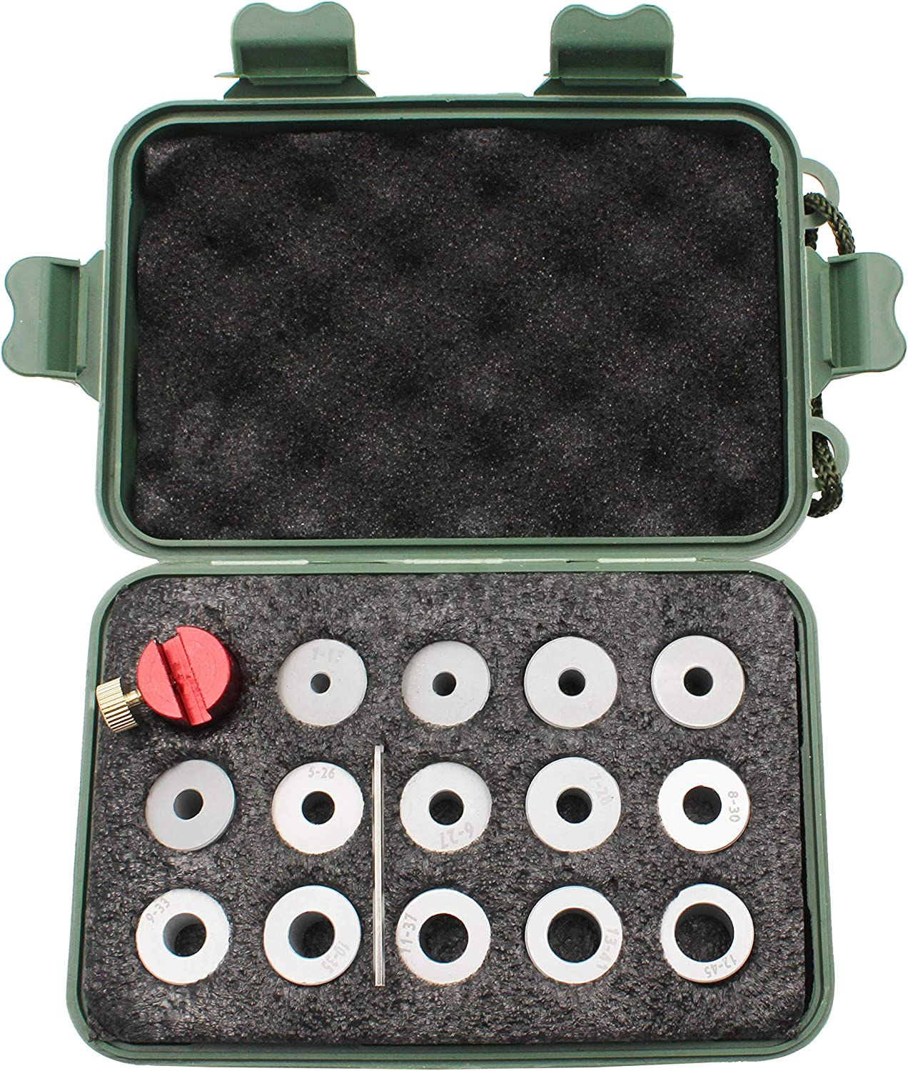 Lock-N-Load Comparator Body, Compatible with Any Set of Calipers, Measuring Cartridges from .17 to .45 Caliber.