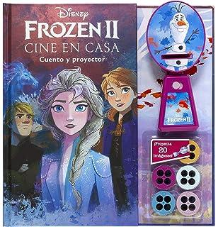 Frozen. Cine en casa: Cuento con proyector Disney. Frozen ...