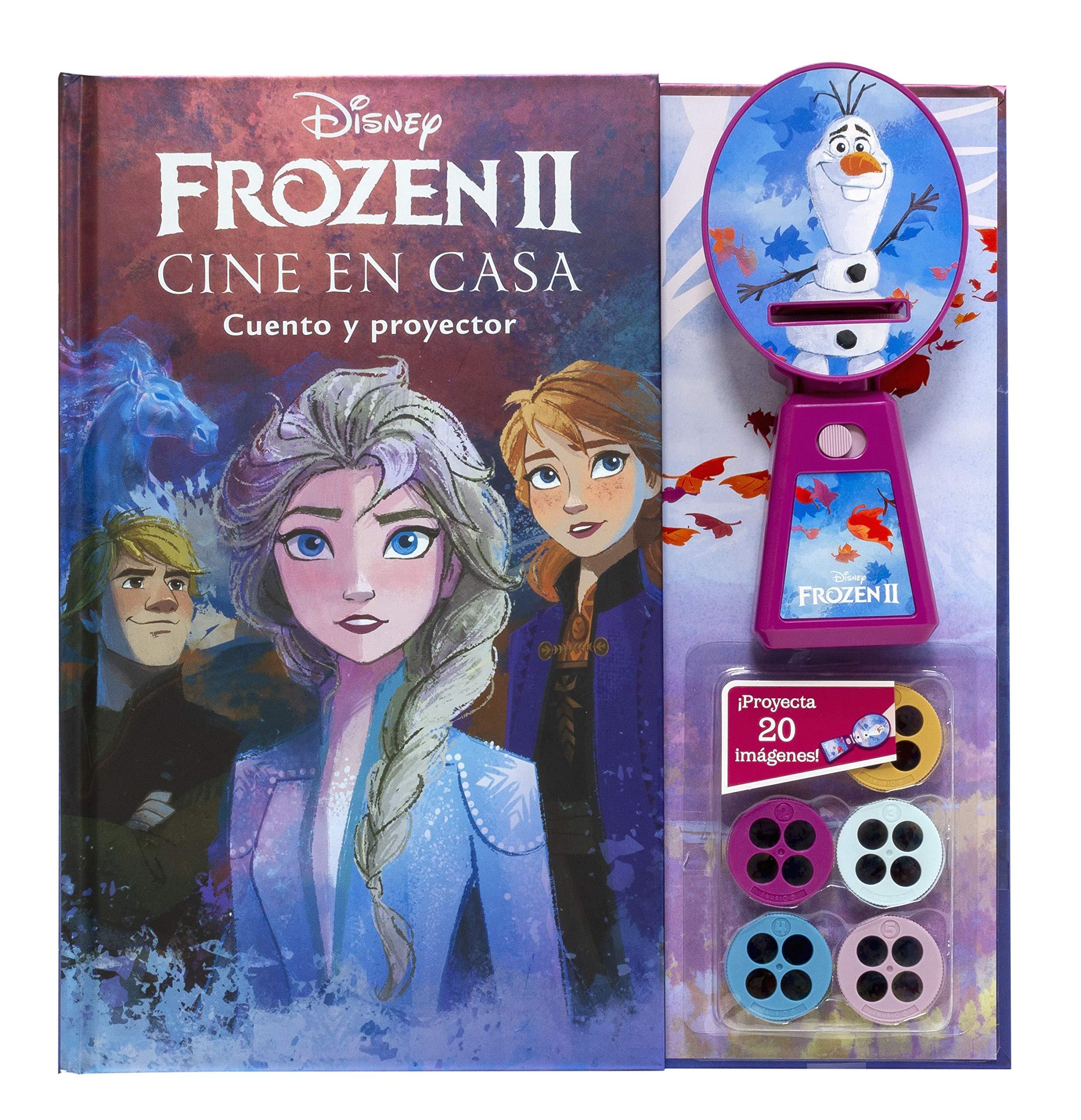 Frozen 2. Cine en casa: Cuento y proyector: Disney ...