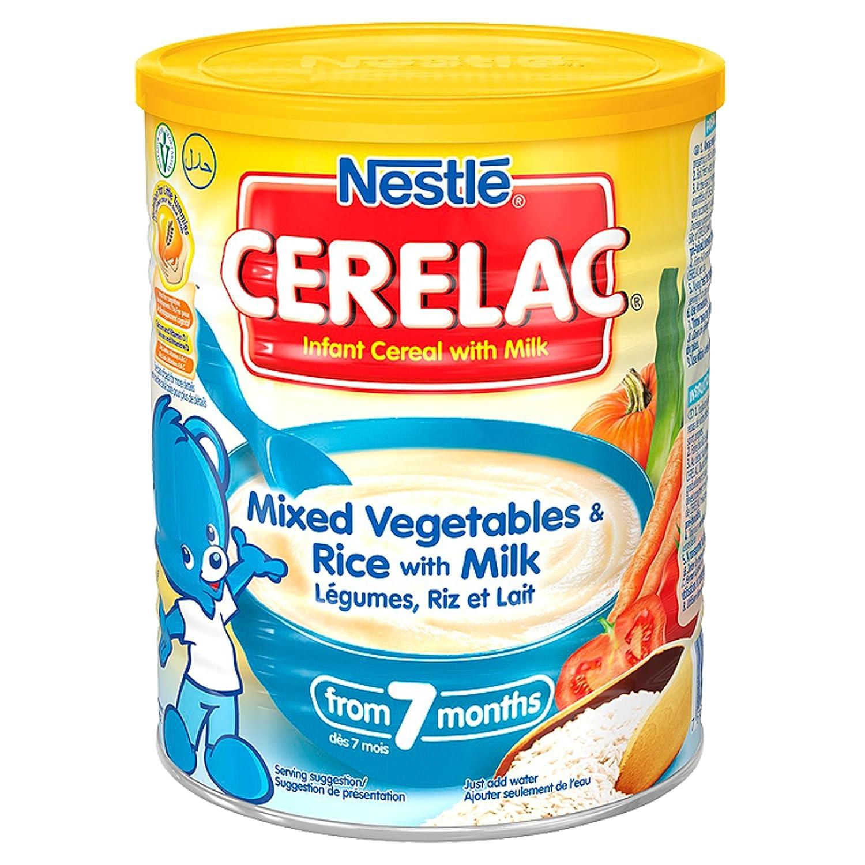 CERELAC Légumes/Riz/Lait Dès 7 Mois Halal 400 g NESTLE CERLEGB