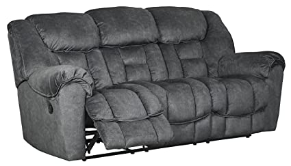 Signature Design by Ashley 7690288 Capehorn Reclining Sofa Granite