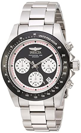 dc0ba46f9 Image Unavailable. Image not available for. Color: Invicta Men's Speedway  Quartz Watch with Stainless-Steel ...