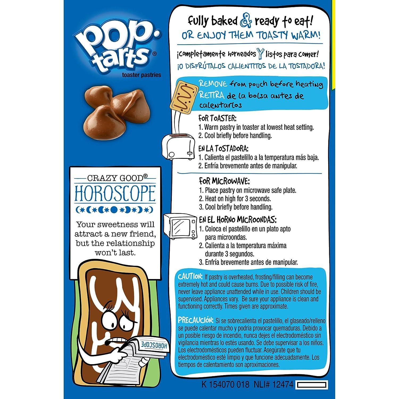 Amazon.com: Kelloggs Chocolate Chip Pop-Tarts Toaster ...