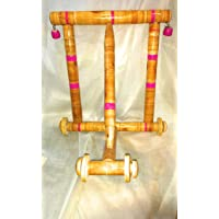 JAYAM ENT Traditional Wooden Walker for Toddlers (Multicolour) -1 Piece