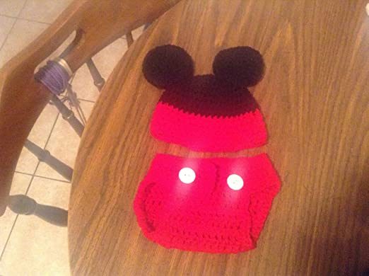 b866979d9e6 Image Unavailable. Image not available for. Color  Mickey Mouse (Inspired) Diaper  Cover ...