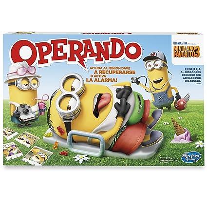 Hasbro Gaming Juego De Mesa Operando Minions