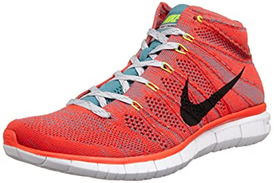 super popular 25439 5abc0 NIKE Free Flyknit Chukka Mens Running Shoes 639700-600 Red 10.5 M US