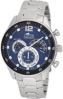 GENUINE LOTUS Watch Male Stainless steel Chronograph 10 ATM - 10120-2