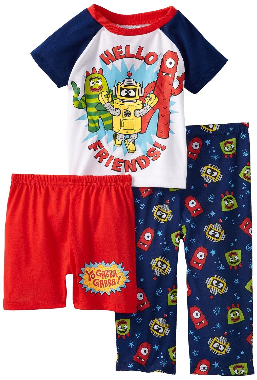 Komar Little Boys Hello Friends Short Sleeve Pajama Set Komar Kids Girls 2-6x K151021YG