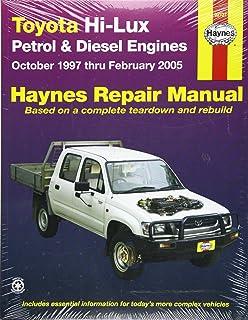 toyota hi lux and hi ace owner s workshop manual haynes toyota pick rh amazon co uk toyota hilux 3.0 d4d service manual pdf toyota hilux 3.0 d4d service manual pdf