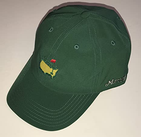 Masters golf hat green performance caddy hat new 2019 masters pga at ... 7d91e1826075