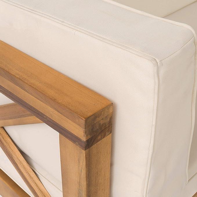 Amazon.com: Set de 4 piezas seccionales de madera Levanto ...