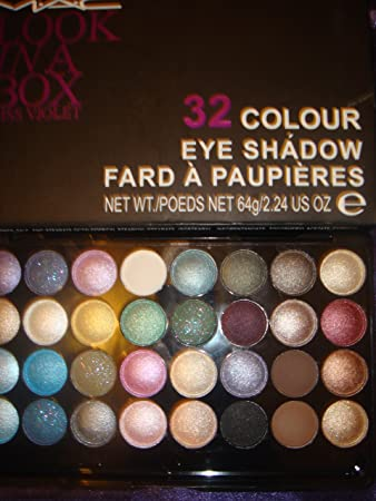 mac 32 colour eyeshadow palette