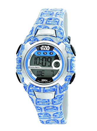 AM: PM Star Wars R2-D2 azul Kid s reloj sp178-u478