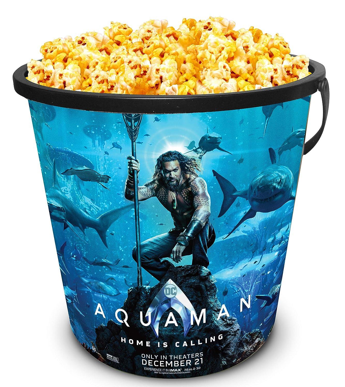 DC Comics: Aquaman 2018 Movie Theater Exclusive 30 oz Plastic Popcorn Tub