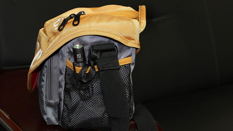 Neutral White Xeno Waterproof Mini Military Standard Cree LED Flashlight ES1 with AA battery1 XENOled XENO ES1 NW