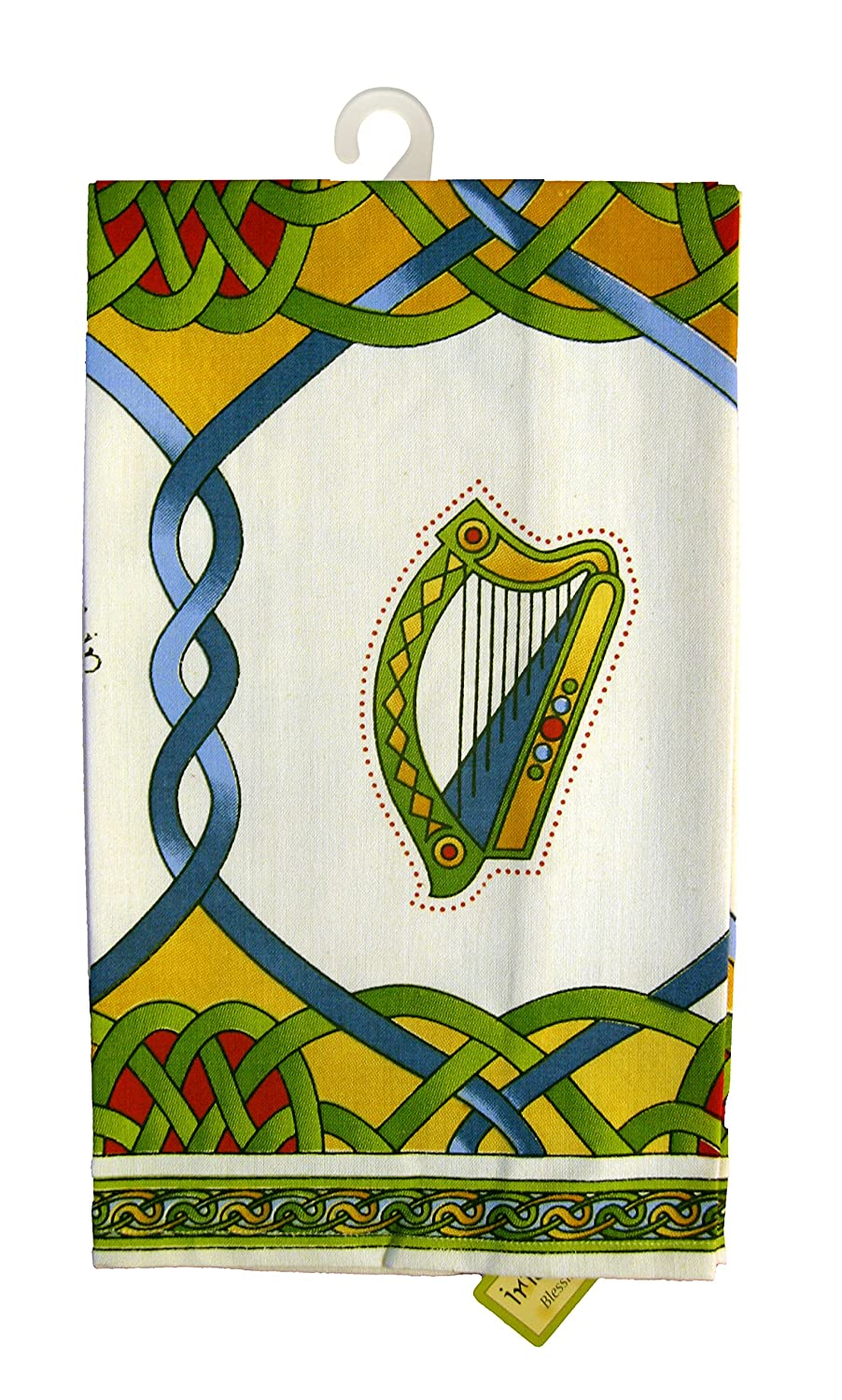 Single Tea Towel Emblems of Ireland- Irish Weave Royal Tara