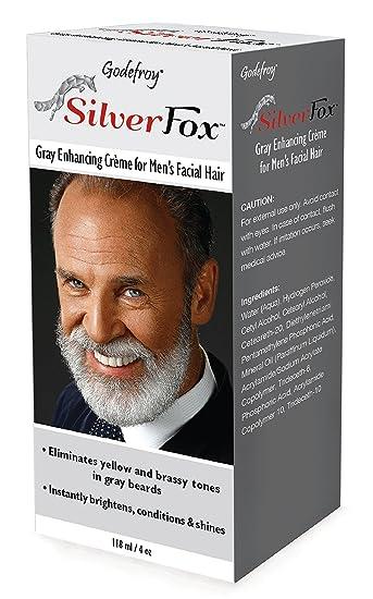 Amazon.com: Godefroy Silver Fox Men\'s Silver And Gray Beard ...