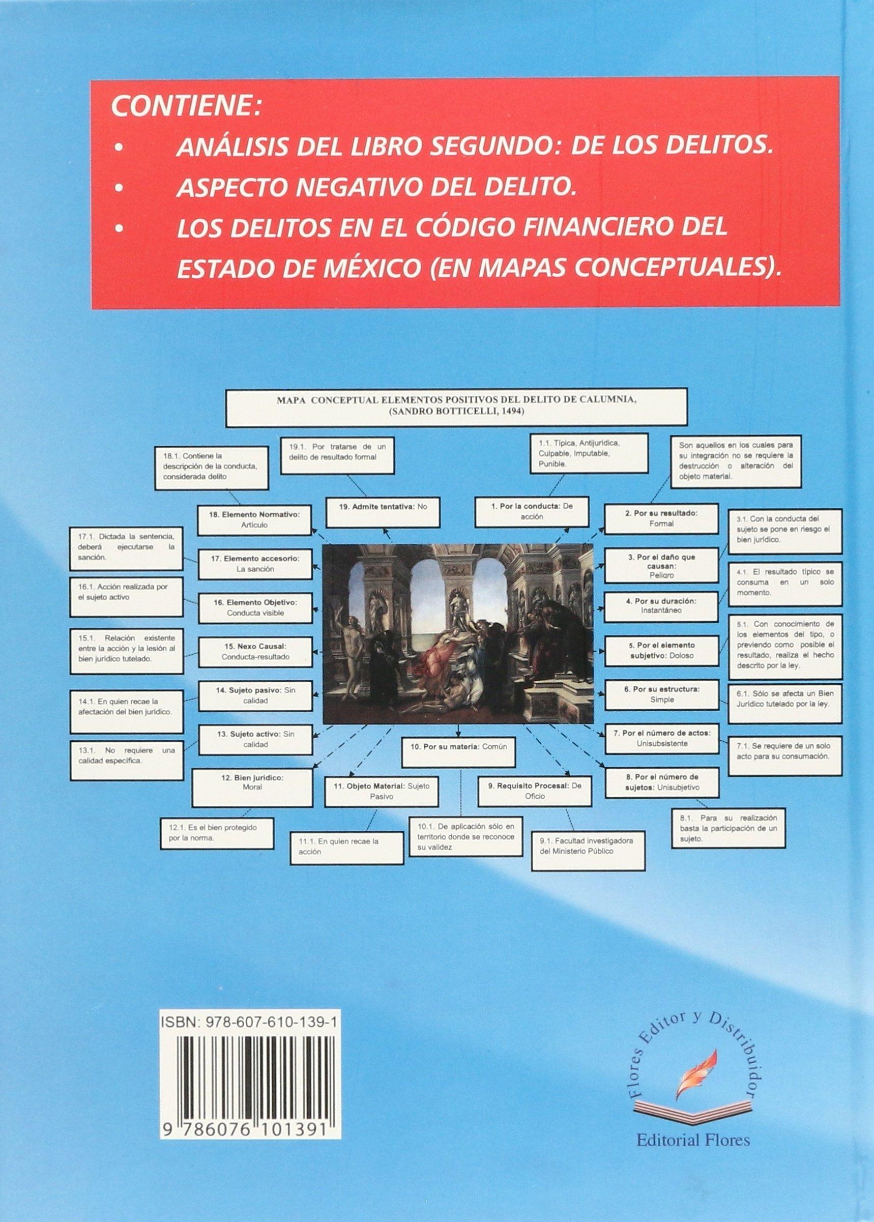 CODIGO PENAL DEL ESTADO DE MEXICO EN MAPAS CONCEPTUALES, EL. ANALISIS DE LOS ELEMENTOS LOS TIPOS PENALES: AARON HERNANDEZ LOPEZ: 9786076101391: Amazon.com: ...