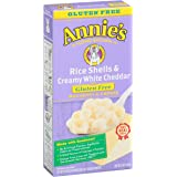 Annie's Homegrown Gluten Free Rice Shells with Creamy White Cheddar, 6 Ounce
