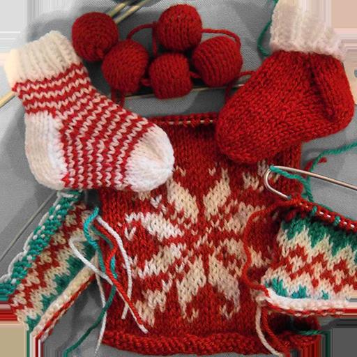 Unusual Knitting Techniques : Adnan qureshi knitting unique christmas designs kindle