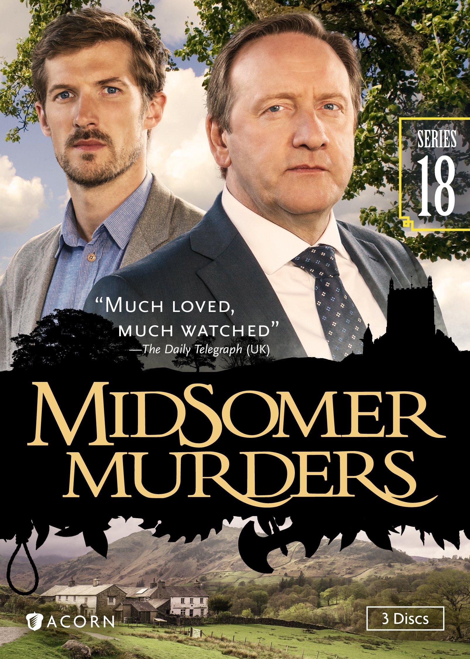 DVD : Midsomer Murders: Series 18 (DVD)