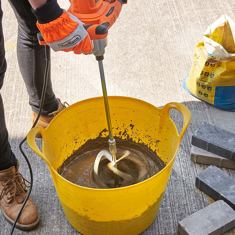 Cem Render Whisk Heavy Duty Multi Mixer Stirrer Paddle for Plaster Concrete