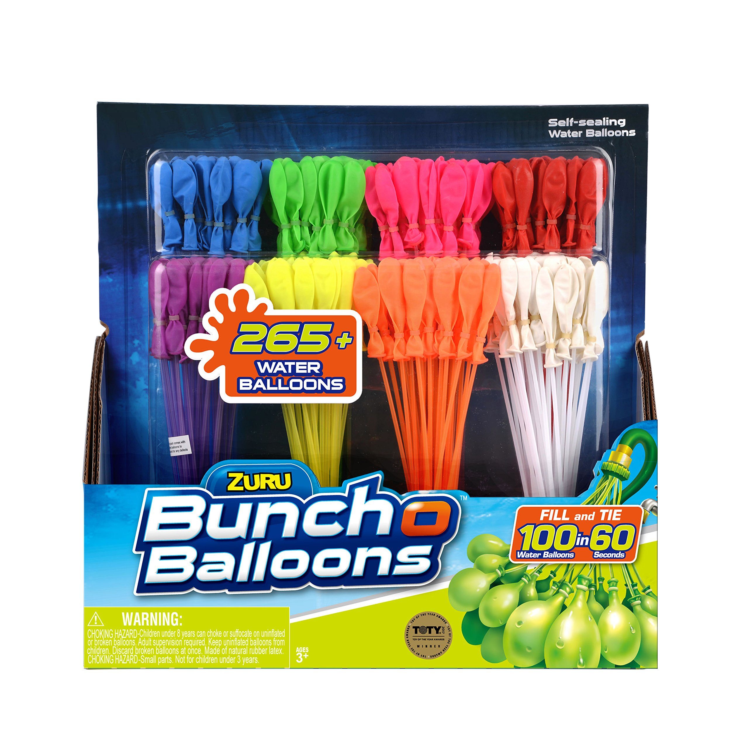 Bunch O Balloons WATER BALLOONS - BUNCH OF BALLOONS RAPID REFILL 8 PACK by Bunch O Balloons