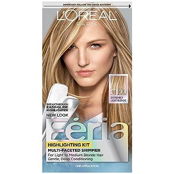 Amazon loral paris feria permanent hair color c100 star loral paris feria permanent hair color c100 star lights extreme highlighting kit pmusecretfo Images