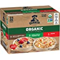32-Count Quaker Organic Instant Oatmeal Variety Pack
