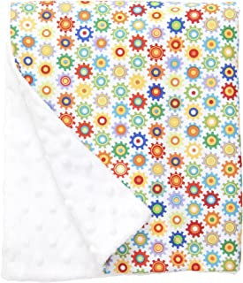 """product image for Original Baby Elephant Ears Boys & Girls Baby Blanket-Soft Minky, for Newborn Infants & Toddlers, Plush Blanket (Sprockets, Large 27"""" x 29"""")"""