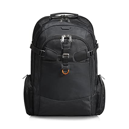 Everki Titan Checkpoint Friendly Laptop Backpack Fits Up to 18.4-Inch  Laptops (EKP120)
