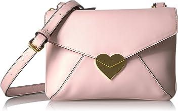 744ddd6e81 Dear Drew by Drew Barrymore uptowner Everyday Heart Clasp Crossbody Bag