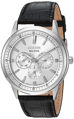 Amazon.com: Citizen Reloj casual de cuarzo de acero ...