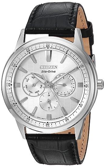 Citizen bu2070 - 04 A Corso Hombres del Reloj Negro 44 mm Acero Inoxidable: Amazon.es: Relojes