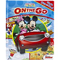 Disney Mickey Mouse Clubhouse - On the Go - My First Look and Find Activity Book - PI Kids (First Look and Find: Mickey…