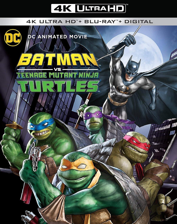 Batman vs. Teenage Mutant Ninja Turtles USA Blu-ray: Amazon ...