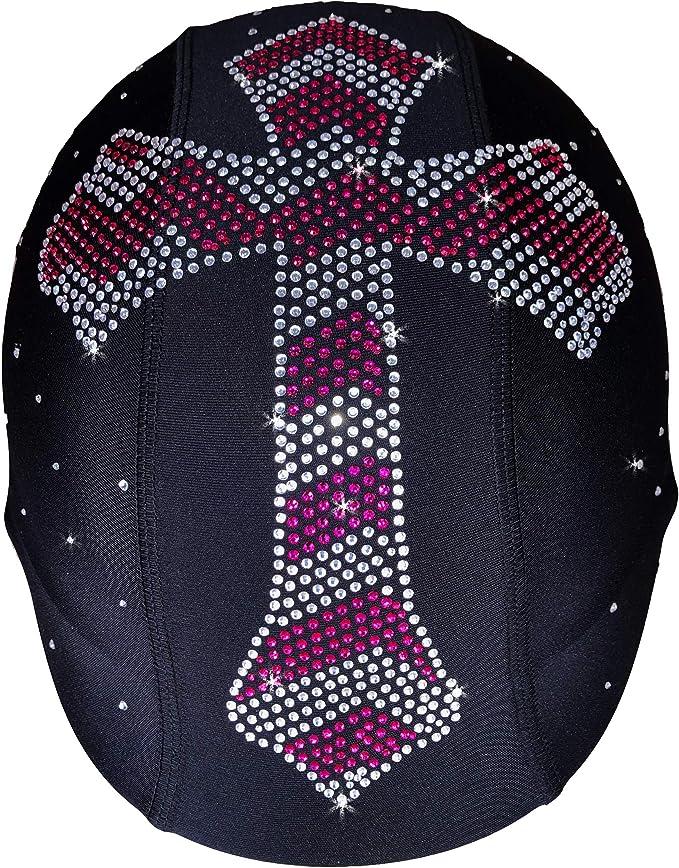 Helmetra Sequin Butterfly Bling Rhinestone Custom Helmet Cover