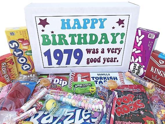 Woodstock Candy ~ 1979 40 cumpleaños caja de regalo de ...