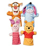Melissa & Doug Winnie The Pooh Soft & Cuddly Hand Puppets Plush