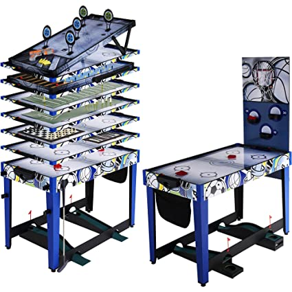 Merveilleux MD Sports 48u0026quot; 13 In 1 Multi Game Combo Table