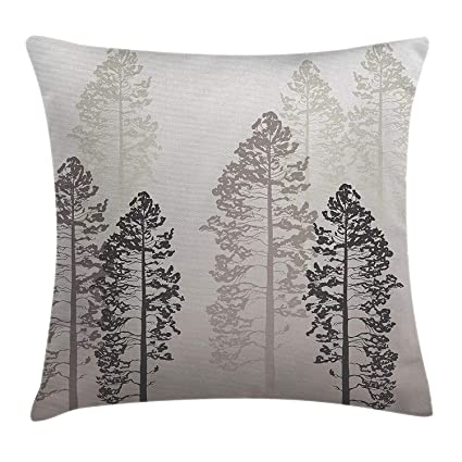Amazon Country Throw Pillow Cushion Cover Pine Trees In The Stunning Country Throw Pillows Decorative