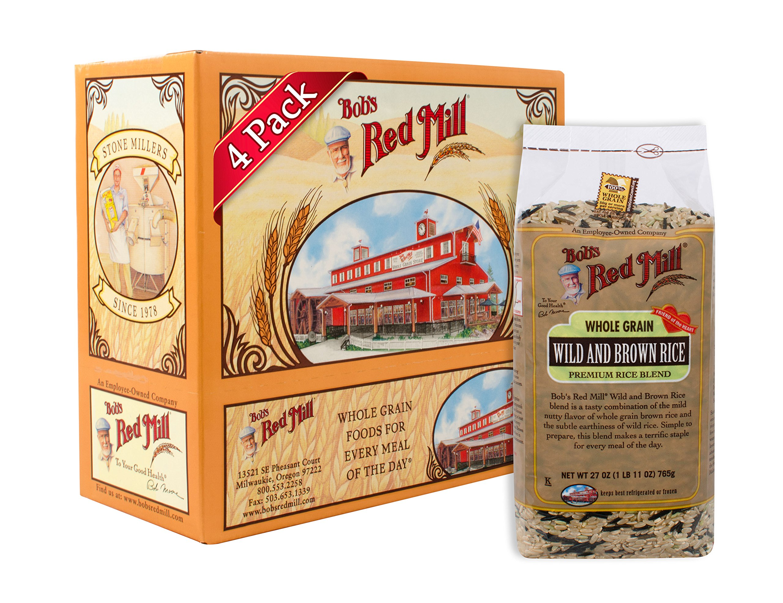 Bob's Red Mill Wild & Brown Rice Blend, 27-ounce