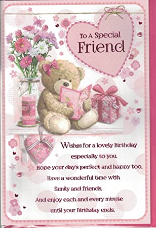 Friend Birthday Card